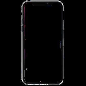 Iphone X, Iphone X Vector, Iphone, Smartphone