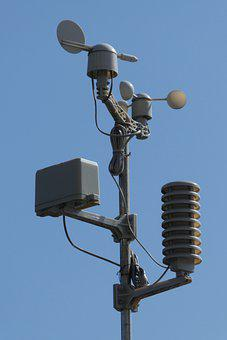 Weather Station, Weather Vane, Set, The Sensor, Science