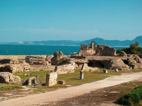 Tunisia, Carthage, Archaeology