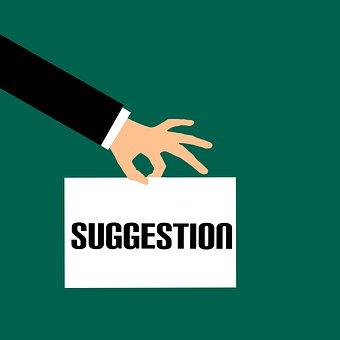 Suggestion, Advice, Business, Care, Change, Creative