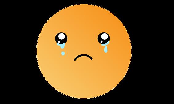 Sad, Emoji, Depressed, Anxiety, Emotions, Emoticon