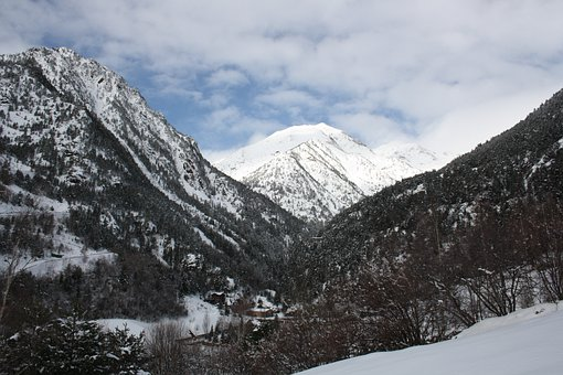 Mountain, Andorra, Vallnord, Ski, Winter, Nevada