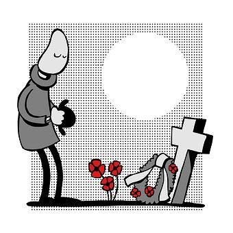 Remembrance, Grave, Memory, Veteran