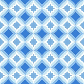 Mosaic, Pattern, Seamless, Kitchen, Oriental