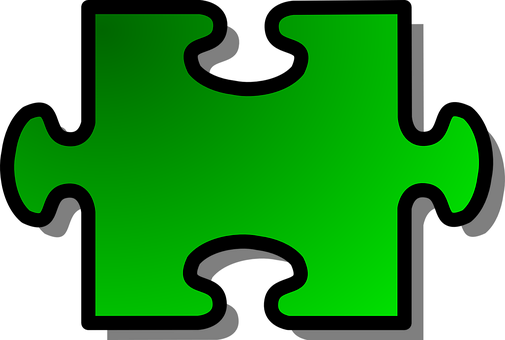 Jigsaw, Puzzle, Piece, Single, Join, Connect, Isolated