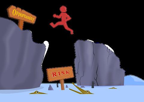Risk, Risk Taker, Sacrifice, Jump, Opportunity, Danger