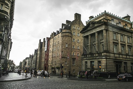 Street, Cobble Street, Corner, Mile, Royal, Royal Mile
