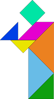 Shapes, Blocks, Pieces, Puzzles, Colourful, Triangles