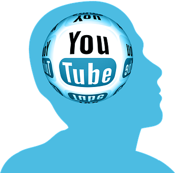 Head, Circle, You, Tube, Youtube, Networks, Internet