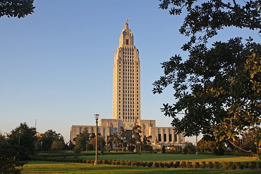 Capitol, Baton Rouge, Government, Building, Louisiana