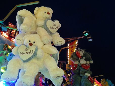 Teddy Bear, Bear, Soft Toy, Toys, Children Toys, Love