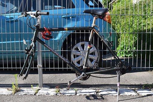 Bike, Stolen, Frame, Bicycle Frames, No Mature