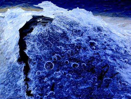 Ice, Winter, Blue, Cold, Nature, Frozen, Frost, Crystal
