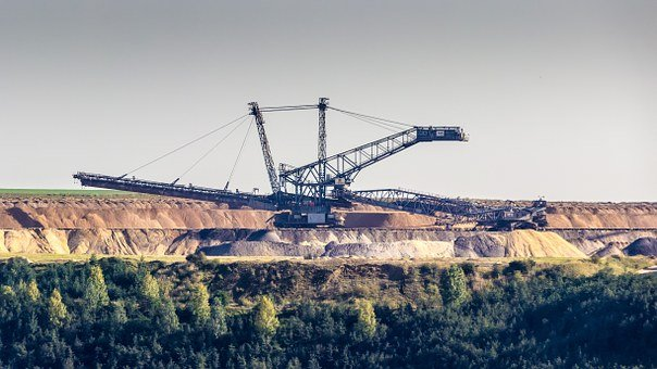 Excavators, Brown Coal, Braunkohlebagger