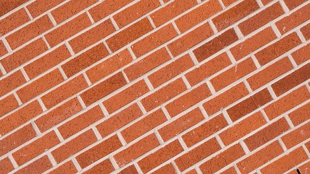 Brick, Wall, Tilted, Texture, Tilt, Architecture