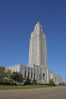 Capitol, Building, Baton Rouge, Louisiana, Government