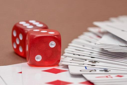 Gambling, Card Game, Cube, Roll The Dice, Cards