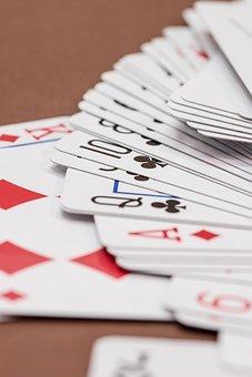 Gambling, Card Game, Cards, Playing Cards, Heart, Poker