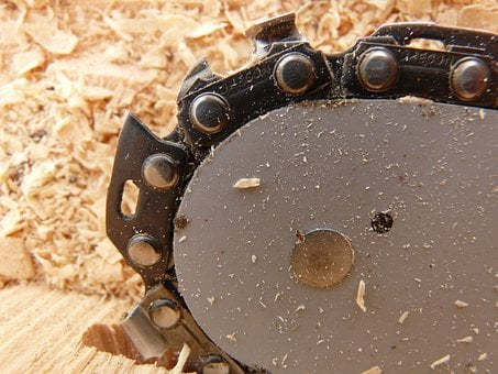 Saw, Chainring, Chainsaw, Chain, Wood, Firewood
