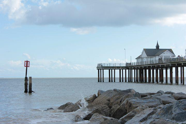 Beach, Southwold, Ocean, Seaside, Coast, Tourism