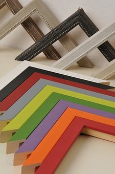 Frame Afford, Colorful, Wood, Color, Lacquered Wood