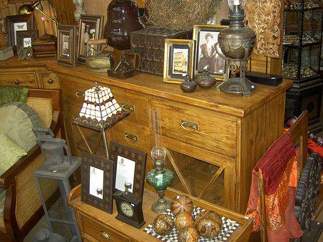 Antiques, Furniture, Old, Decoration, Rustic, Lamps