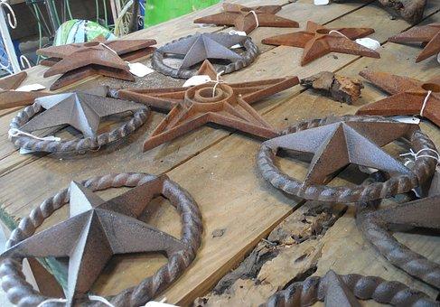 Metal, Stars, Design, Symbol, Metallic, Decoration