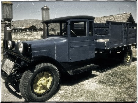 Dodge Graham Truck, Automobile, Old, Ancient, Vintage
