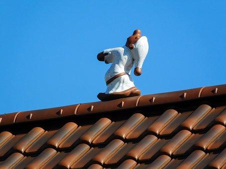 Roof, Sleep, Sleepwalkers, Fig, Tile, Brick, House Roof