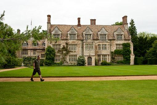 Gardener, Estate, House, Architecture, Building