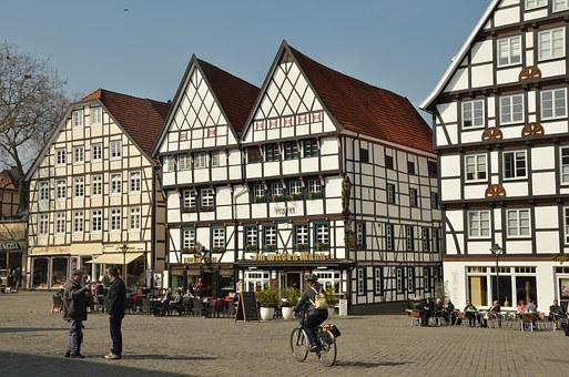 Germany, Soest, Architecture, Timber-framed