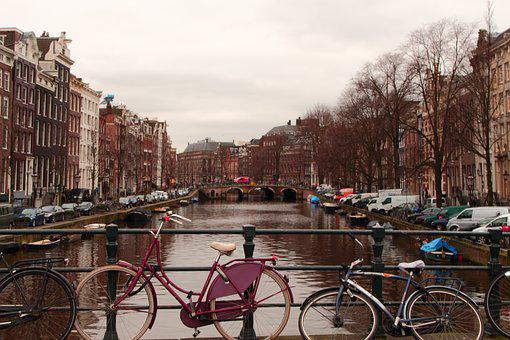 Amsterdam, Bike, Bicycles, Netherlands, Holland