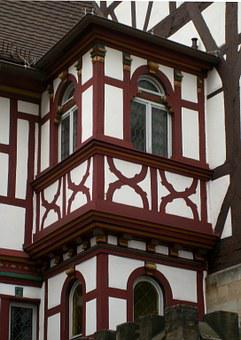 Truss, Fachwerkhaus, Home, Building, Architecture