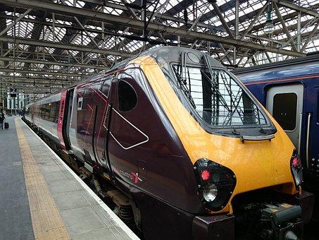 London Train Station, King's Cross Station, Train