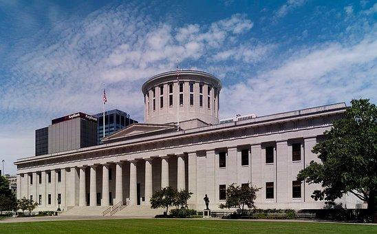 Ohio Statehouse, Capital, Landmark, Columbus, Ohio