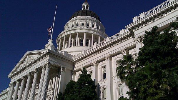 Capital, Building, Sacramento, Landmark, Tourism