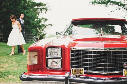 Wedding, Limousine, Car, Luxury, Limo, Vehicle