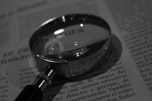 Magnifying Glass, Increase, Reading, Text, Read