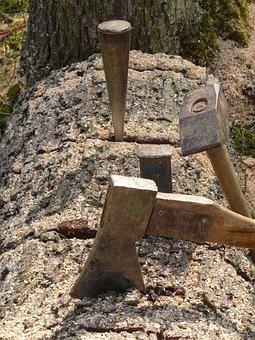 Gap Dies, Hammer, Ax, Wedge, Metallic Wedge, Metal
