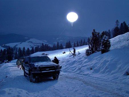 Night, Filming, Lighting Scenes, Film Production