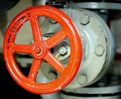 Handwheel, Regulation, On, To, Closed, Open, Turn