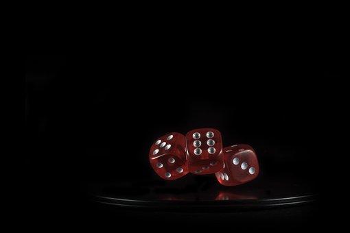 Cube, Gambling, Play, Light, Glass Cube, Win, Pay, Hope