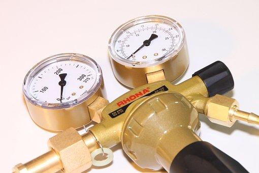 Argon, Gas, Pressure, Regulator, Welding, Editorial