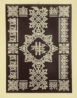 Ornament, Russian Ornament, Letters, Ligature, Slave