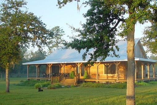 Home, Log Cabin, Farm, House, Rural, Wood, Rustic