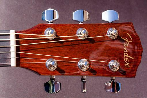 Guitar, Head, Saddle, Musical Instrument