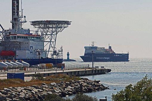 Bornholm Ferry, Ferry Terminal, Sassnitz, Mukran, Rügen