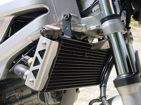 Suzuki, Villa, Chrome, Telescope, Motorcycle