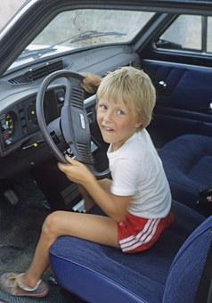 Child, Boy, Auto, Child Car Drives, The Child Tax