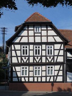 Turmstr, Nordenstadt, House, Building, Timber Framing